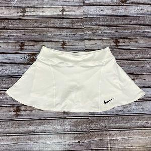 Nike Flouncy Skirt White Size Med